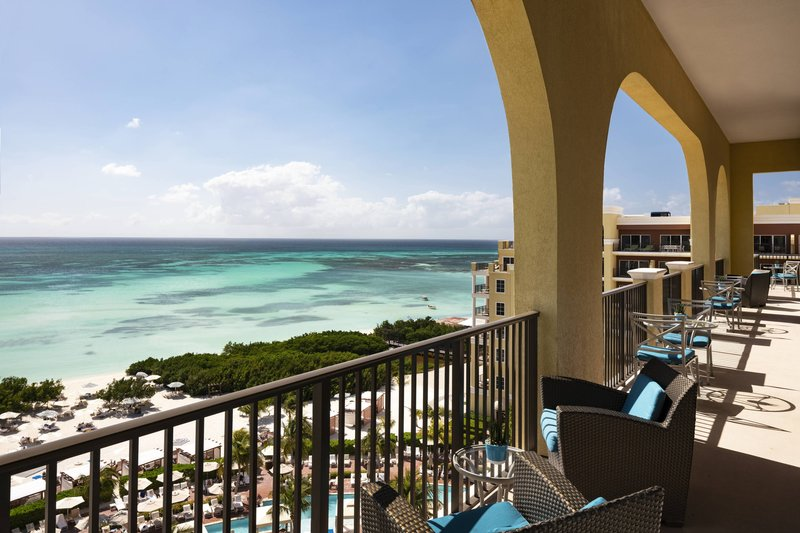 THE RITZ-CARLTON, ARUBA - Club Lounge - Palm Beach Terrace <br/>Image from Leonardo