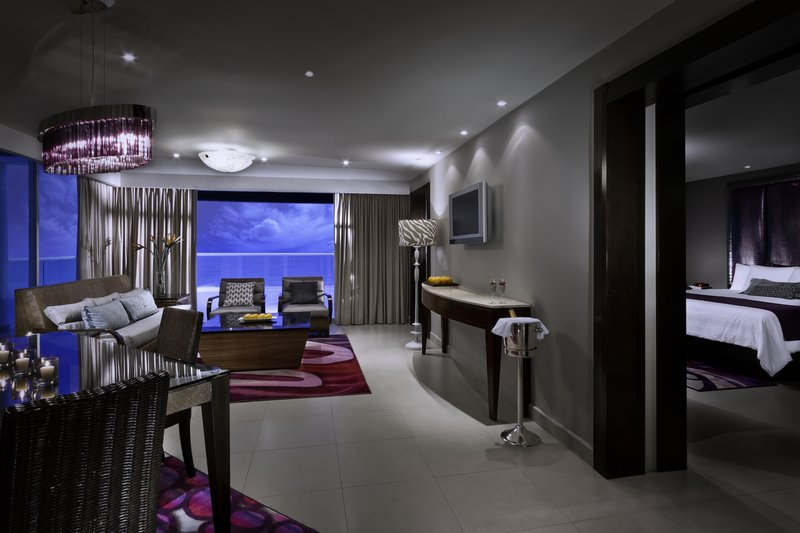 Hard Rock Cancun - HRHCancun Guest Suite Living Room <br/>Image from Leonardo