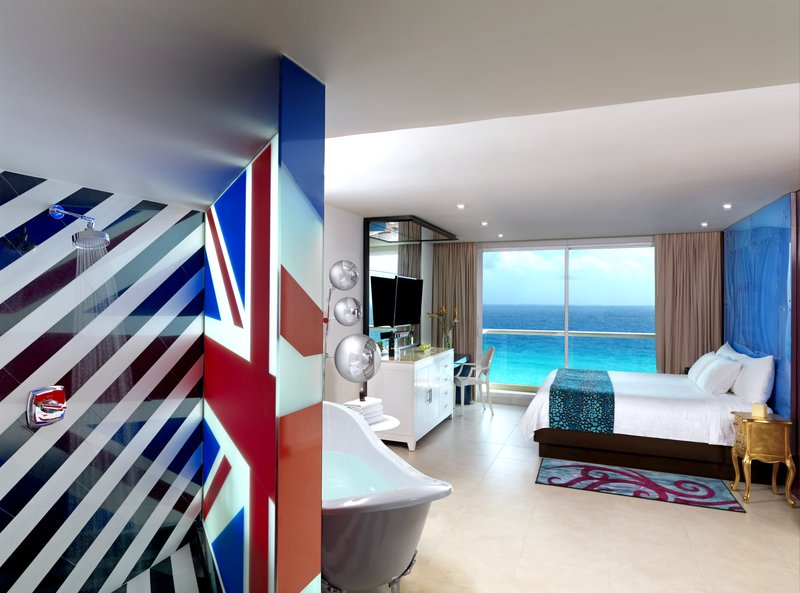 Hard Rock Cancun - HRHCancun Rock Star Suite Bed Bath <br/>Image from Leonardo