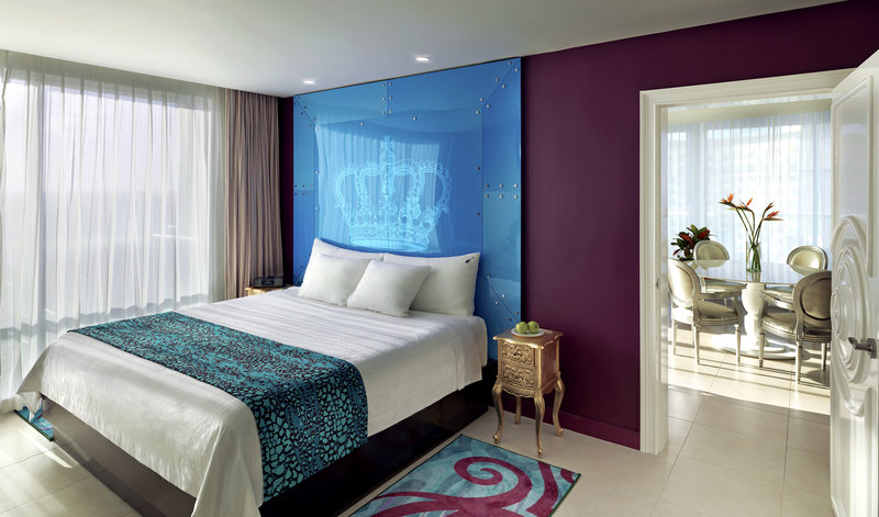 Hard Rock Cancun - HRHCancun Rock Star Suite Bedroom <br/>Image from Leonardo