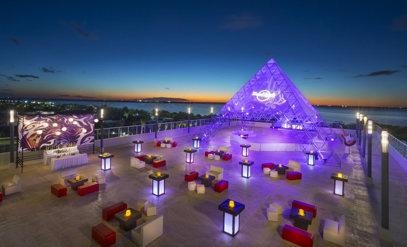 Hard Rock Cancun - HRHCancun Rooftop Terrace <br/>Image from Leonardo