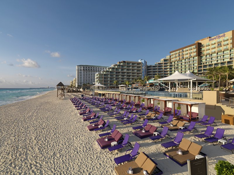 Hard Rock Cancun - HRHCancun Beach <br/>Image from Leonardo