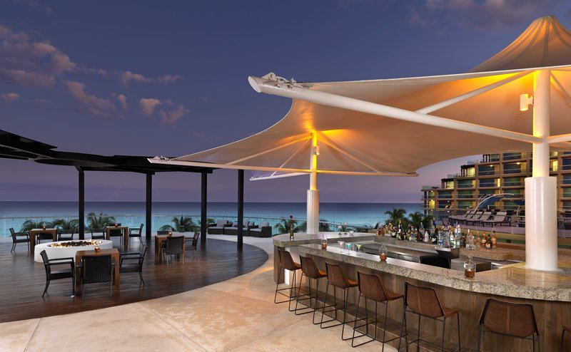 Hard Rock Cancun - HRHCancun Upper Pool Bar <br/>Image from Leonardo