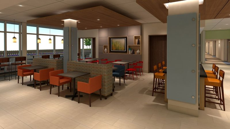 Holiday Inn Express And Suites West Omaha - Elkhorn-Breakfast Area<br/>Image from Leonardo