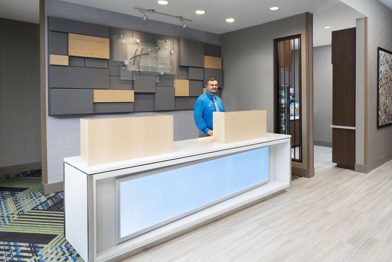 Holiday Inn Express & Suites Odessa I-20-Welcome to our hotel lobby with free WiFi<br/>Image from Leonardo