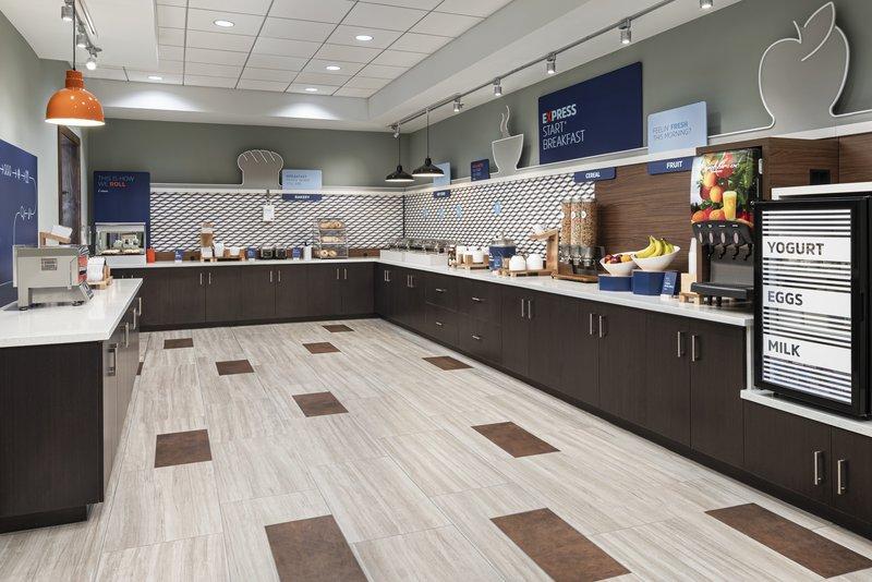 Holiday Inn Express & Suites Odessa I-20-Breakfast Bar<br/>Image from Leonardo