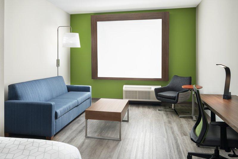 Holiday Inn Express & Suites Odessa I-20-King Suite Living Room<br/>Image from Leonardo