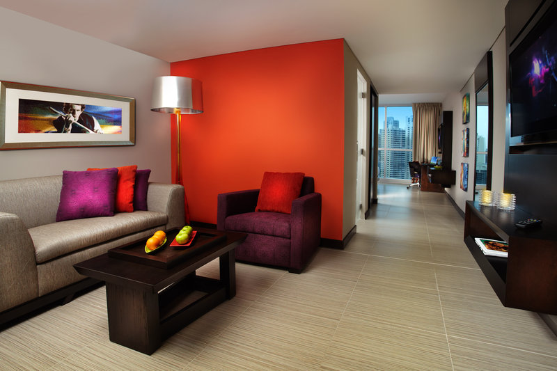 Hard Rock Hotel Panama Megapolis-HRHPanama Guest Suite R<br/>Image from Leonardo