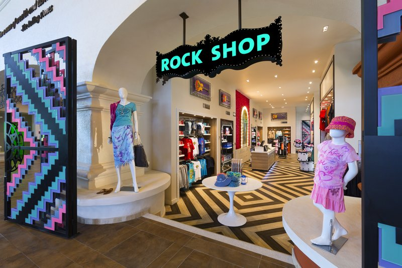 Hard Rock Riviera Maya - Family - HRHRiviera Maya Hacienda Rock Shop <br/>Image from Leonardo