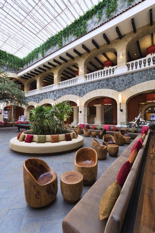 Hard Rock Riviera Maya - Family - HRHRiviera Maya Hacienda Atrium <br/>Image from Leonardo