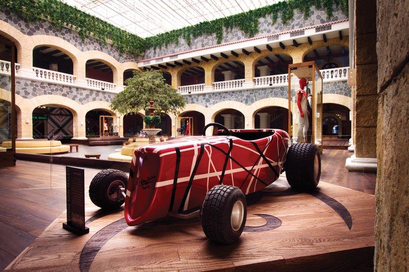 Hard Rock Riviera Maya - Family - HRHRiviera Maya Hacienda Atrium Van Halen Memorabilia <br/>Image from Leonardo