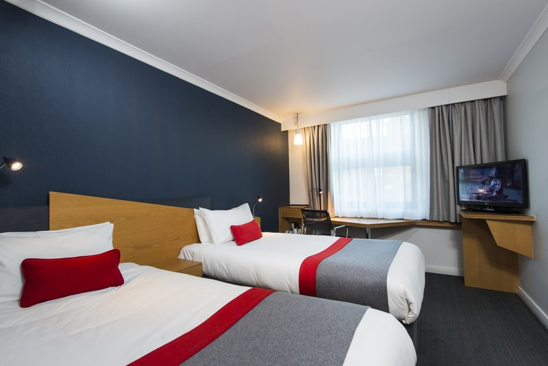Holiday Inn Express Lichfield-Our twin rooms offer two single beds, perfect for sharing<br/>Image from Leonardo