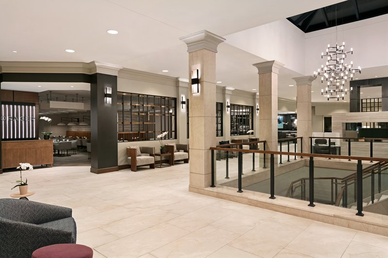 Crowne Plaza Philadelphia - King of Prussia-Our newly renovated lobby features ample seating with food service<br/>Image from Leonardo