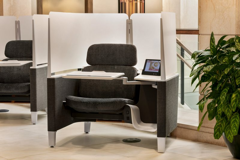 Crowne Plaza Philadelphia - King of Prussia-Order a drink while you work from the privacy of our new work pods<br/>Image from Leonardo