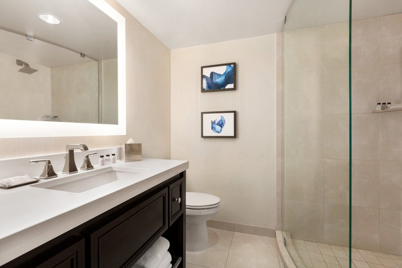 Crowne Plaza Philadelphia - King of Prussia-Our modern guest bathrooms include the essentials for any traveler<br/>Image from Leonardo