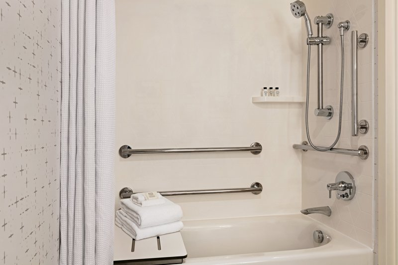 Crowne Plaza Philadelphia - King of Prussia-Our hotel offers mobility accessible bathrooms with tub.<br/>Image from Leonardo
