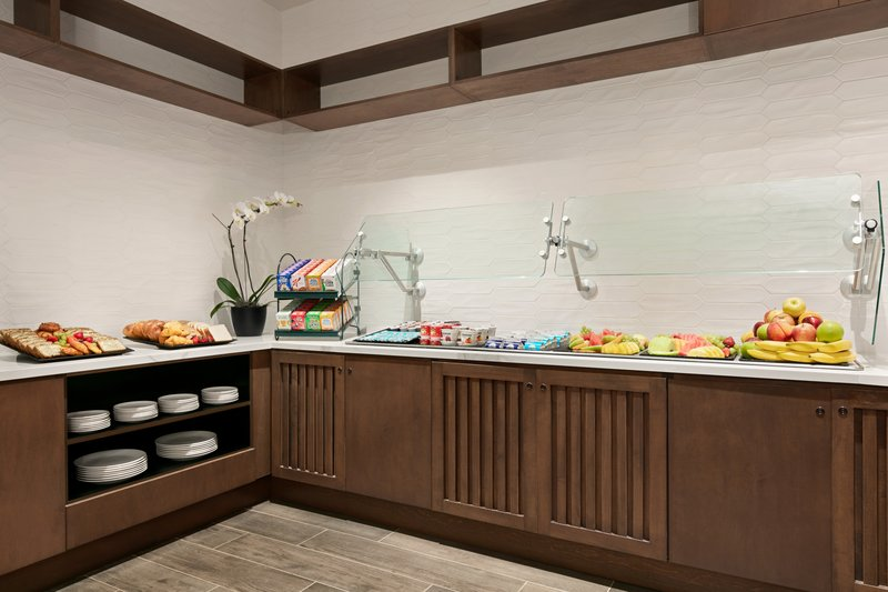 Crowne Plaza Philadelphia - King of Prussia-Forager Restaurant offers a buffet of hot & cold menu items.<br/>Image from Leonardo