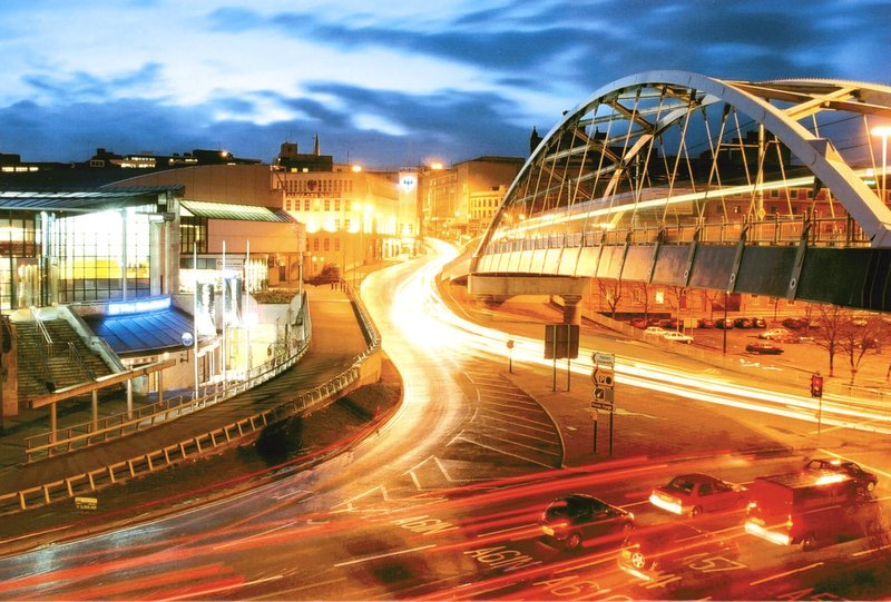 Holiday Inn Sheffield-The hotel is a 5 minute walk from Ponds Forge <br/>Image from Leonardo