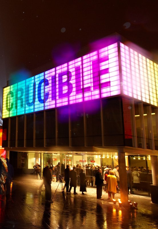 Holiday Inn Sheffield-The iconic Crucible and Sheffield Theatres are within 10 mins walk<br/>Image from Leonardo