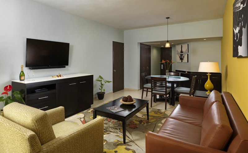 Hard Rock Hotel Vallarta-HRHVRock Suite Gold Living Area<br/>Image from Leonardo
