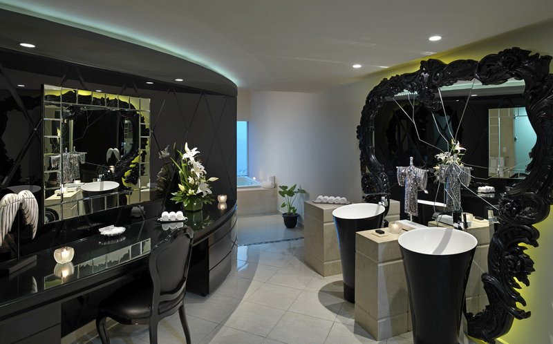 Hard Rock Hotel Vallarta-HRHVRock Star Suite Bathroom<br/>Image from Leonardo