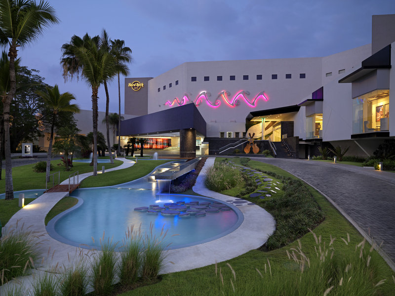 Hard Rock Hotel Vallarta-HRHVMain Entrance<br/>Image from Leonardo