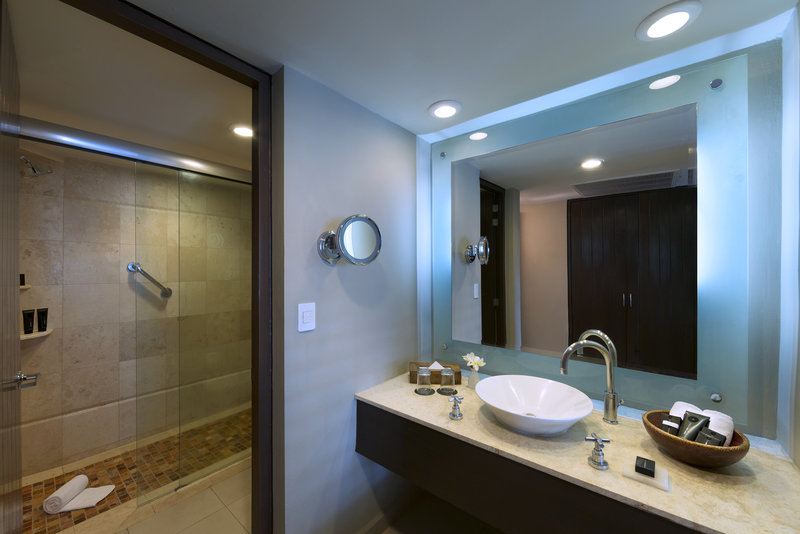 Hard Rock Hotel Vallarta-HRHVDeluxe Platinum Bathroom<br/>Image from Leonardo