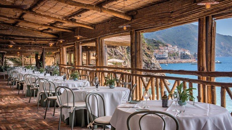 Santa Caterina Hotel-Al Mare restarant<br/>Image from Leonardo