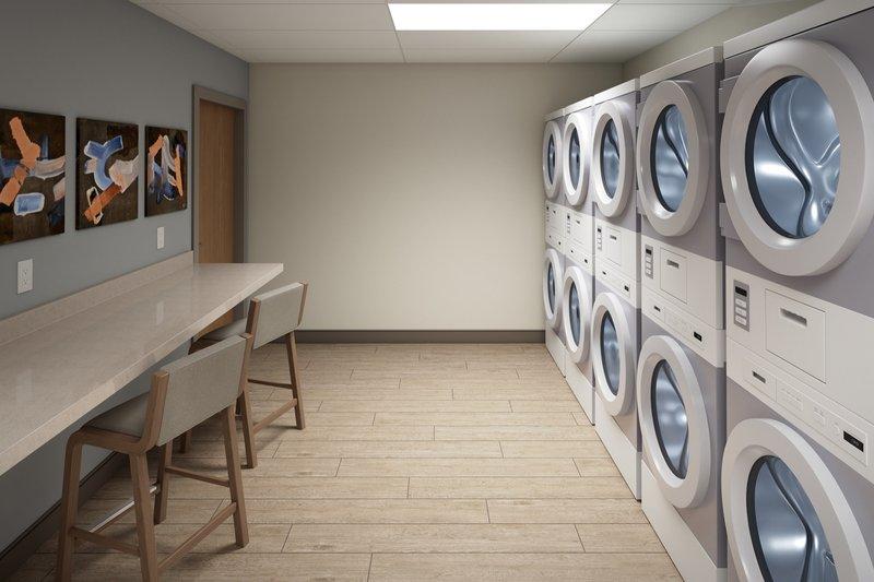 Candlewood Suites Aransas Pass-Laundry Facility<br/>Image from Leonardo