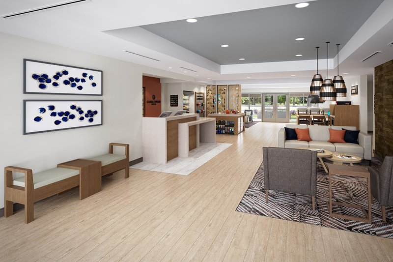 Candlewood Suites Aransas Pass-Hotel Lobby<br/>Image from Leonardo