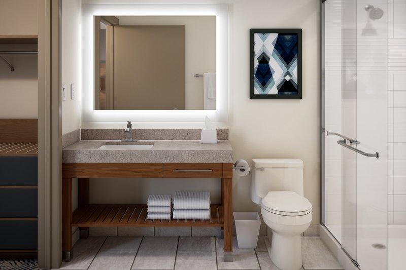 Candlewood Suites Aransas Pass-Guest Bathroom<br/>Image from Leonardo