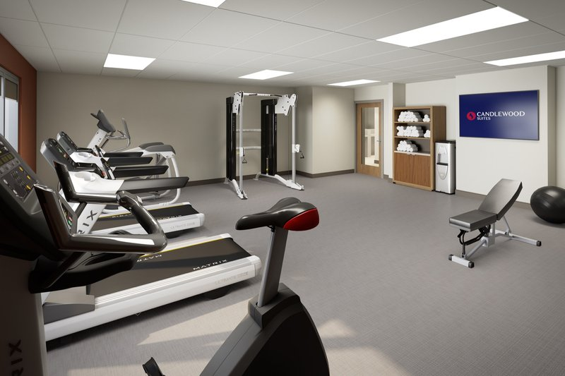 Candlewood Suites Aransas Pass-Fitness Center<br/>Image from Leonardo