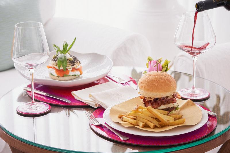 Santa Caterina Hotel-Bistrot snacks<br/>Image from Leonardo