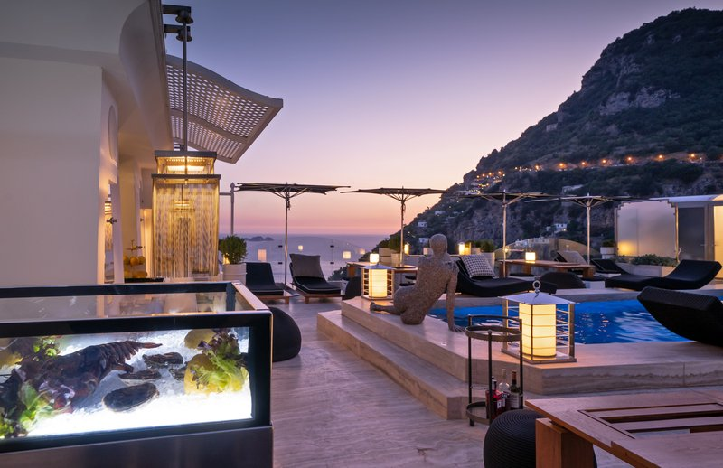 Hotel Villa Franca Positano-Sunset Pool<br/>Image from Leonardo