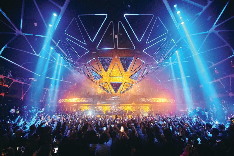 MGM Grand Hotel & Casino - Hakkasan Night Club <br/>Image from Leonardo