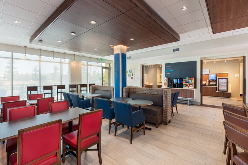 Holiday Inn Express And Suites Moreno Valley Riverside-Breakfast Area<br/>Image from Leonardo