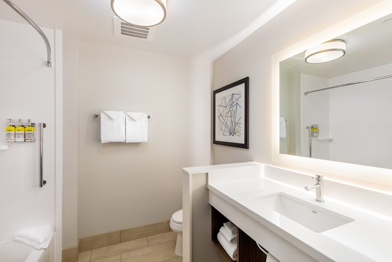 Holiday Inn Express And Suites Moreno Valley Riverside-Guest Bathroom<br/>Image from Leonardo