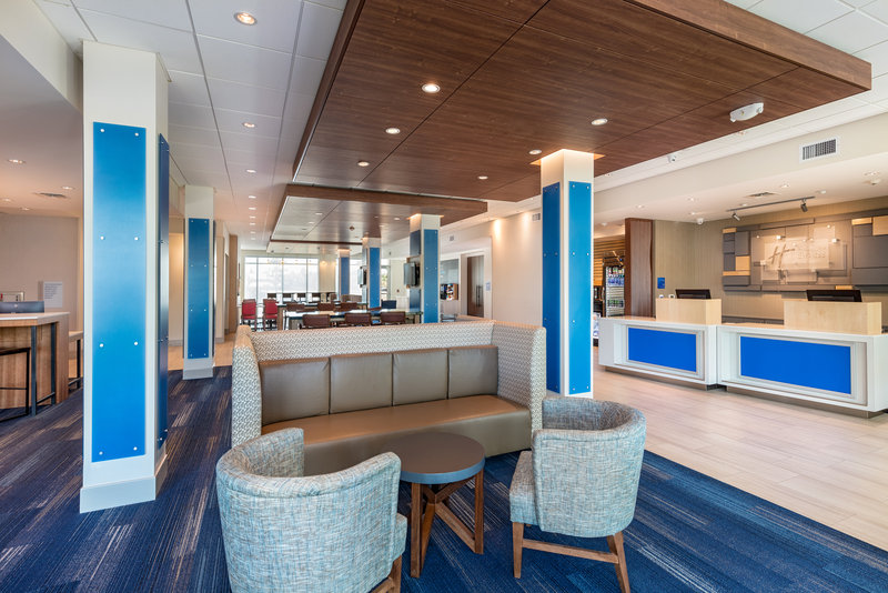 Holiday Inn Express And Suites Moreno Valley Riverside-Hotel Lobby<br/>Image from Leonardo