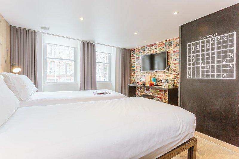 Grassmarket Hotel-Comfy Room<br/>Image from Leonardo