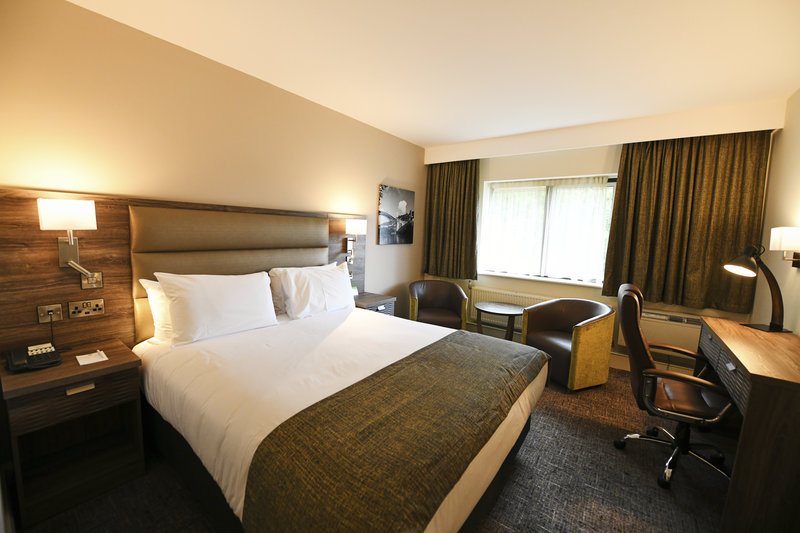 Holiday Inn Telford - Ironbridge-Double Bed Guest Room<br/>Image from Leonardo