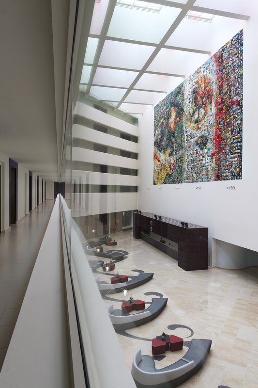Hard Rock Hotel Vallarta - HRHVallarta Lobby <br/>Image from Leonardo