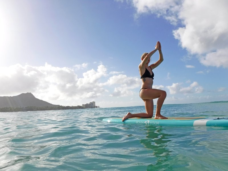 Outrigger Reef Waikiki Beach Resort - SUPYoga <br/>Image from Leonardo