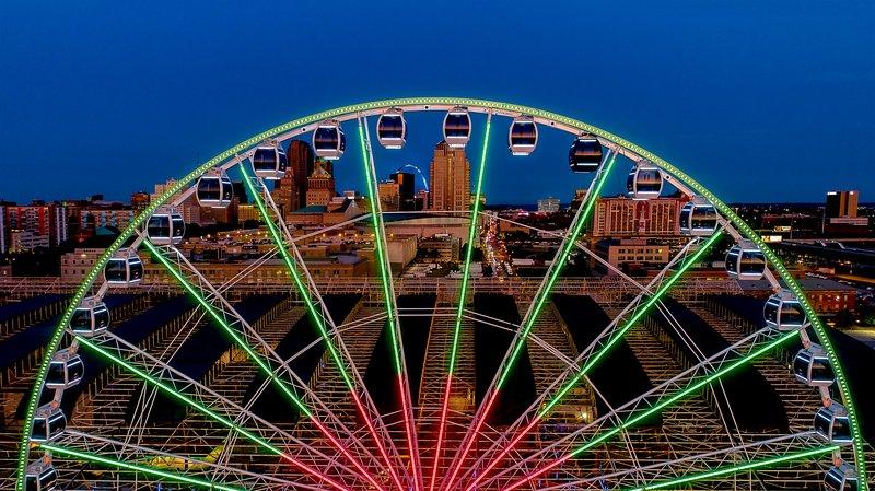 Crowne Plaza St. Louis Airport-St Louis Wheel<br/>Image from Leonardo