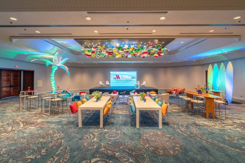 Waikiki Beach Marriott Resort  - Kona Moku Ballroom <br/>Image from Leonardo