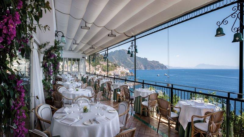 Santa Caterina Hotel-Glicine restaurant<br/>Image from Leonardo