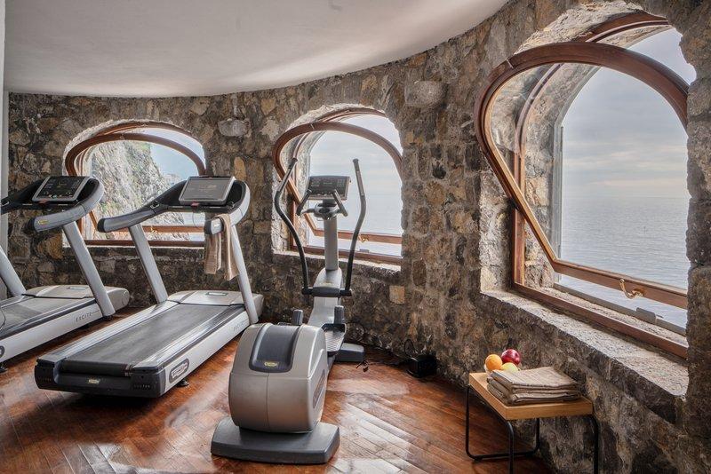 Santa Caterina Hotel-gym<br/>Image from Leonardo