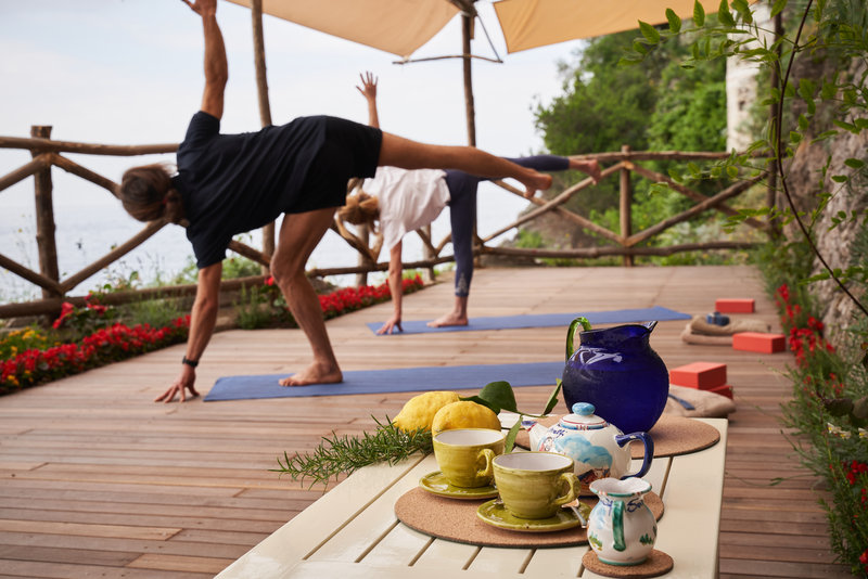 Santa Caterina Hotel-yoga classes<br/>Image from Leonardo