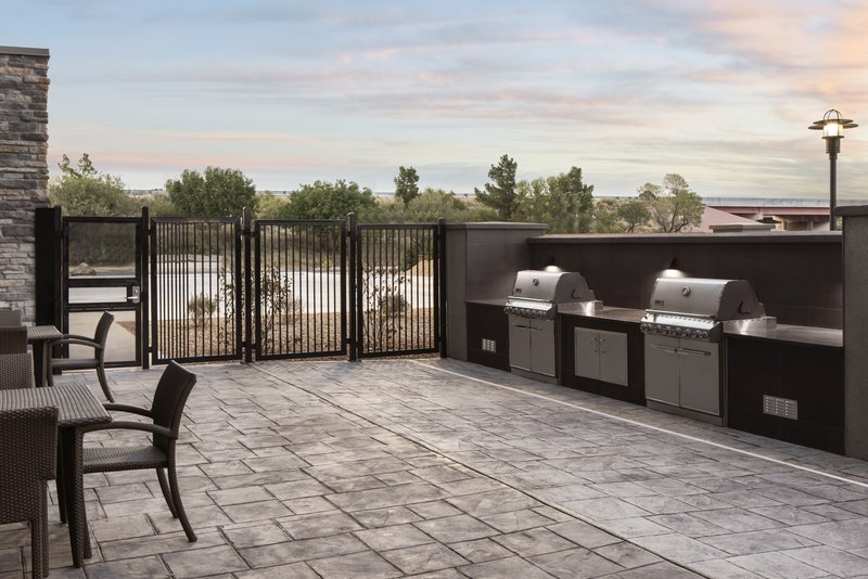Holiday Inn Express & Suites Odessa I-20-Fire up the Grill- on this cozy patio- Go Falcons<br/>Image from Leonardo