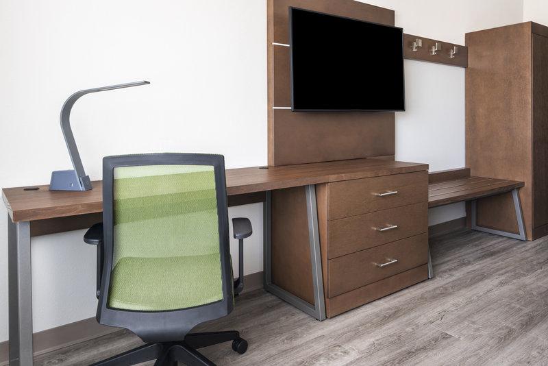 Holiday Inn Express & Suites Odessa I-20-TV Desk Amenity<br/>Image from Leonardo