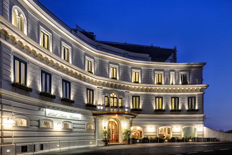 Santa Caterina Hotel-Main Entrance<br/>Image from Leonardo